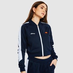 New Ellesse Insalata Crop Track Top Jacket